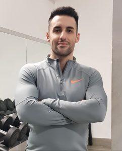 Personal trainer Daniele Macrì